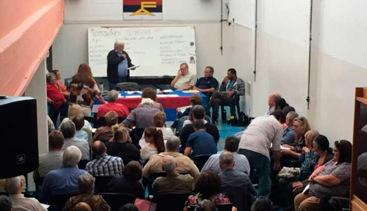 El MPP y el Partido Socialista realizaron sus plenarios pensando en el nuevo programa de gobierno del FA. Foto: @MPP609