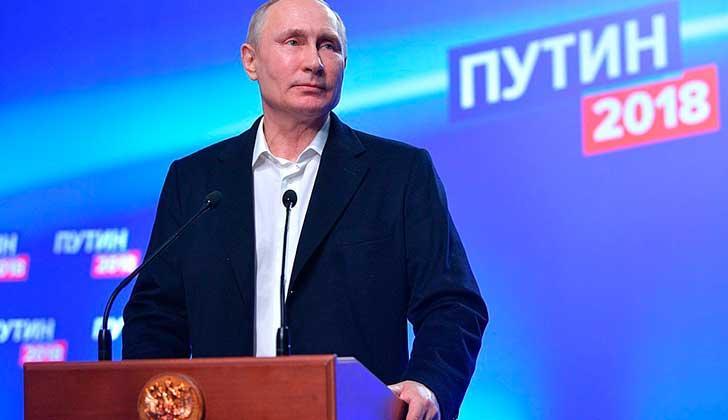"""Putin sobre el caso Skripal: """"No tenemos armas químicas porque las destruimos""""."""
