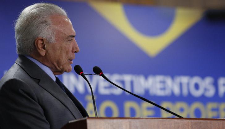 """Para Temer la inhabilitación política de Lula lo convertiría en un """"mito""""."""
