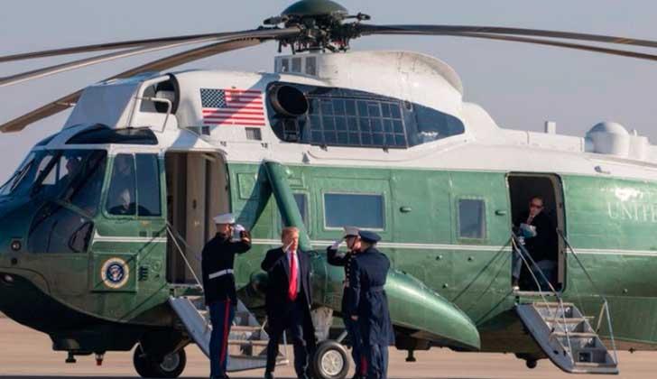"""Trump en California: """"Si no tienes un muro, no tienes país""""."""
