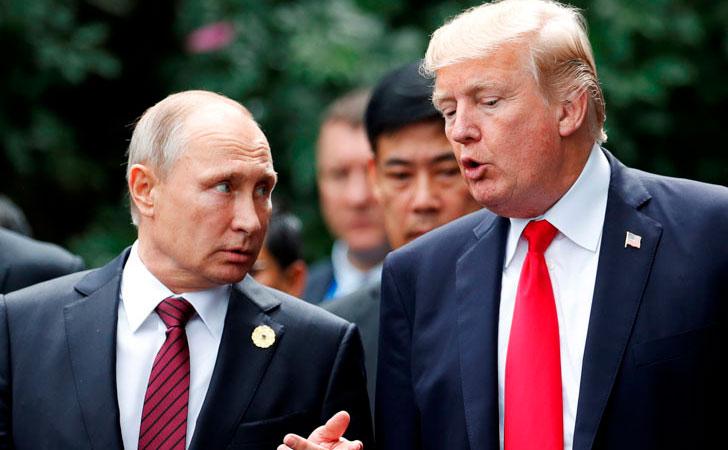 Vladimir Putin junto a Donald Trump / Foto: Jorge Silva