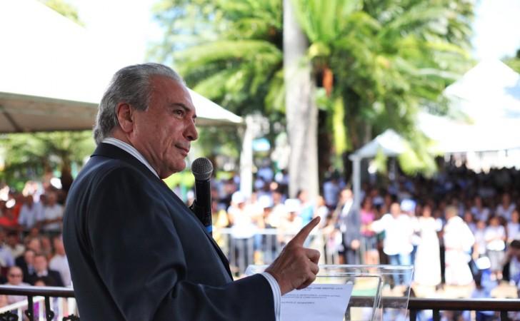 Michel Temer, presidente de Brasil. Foto: Flickr/MichelTemer
