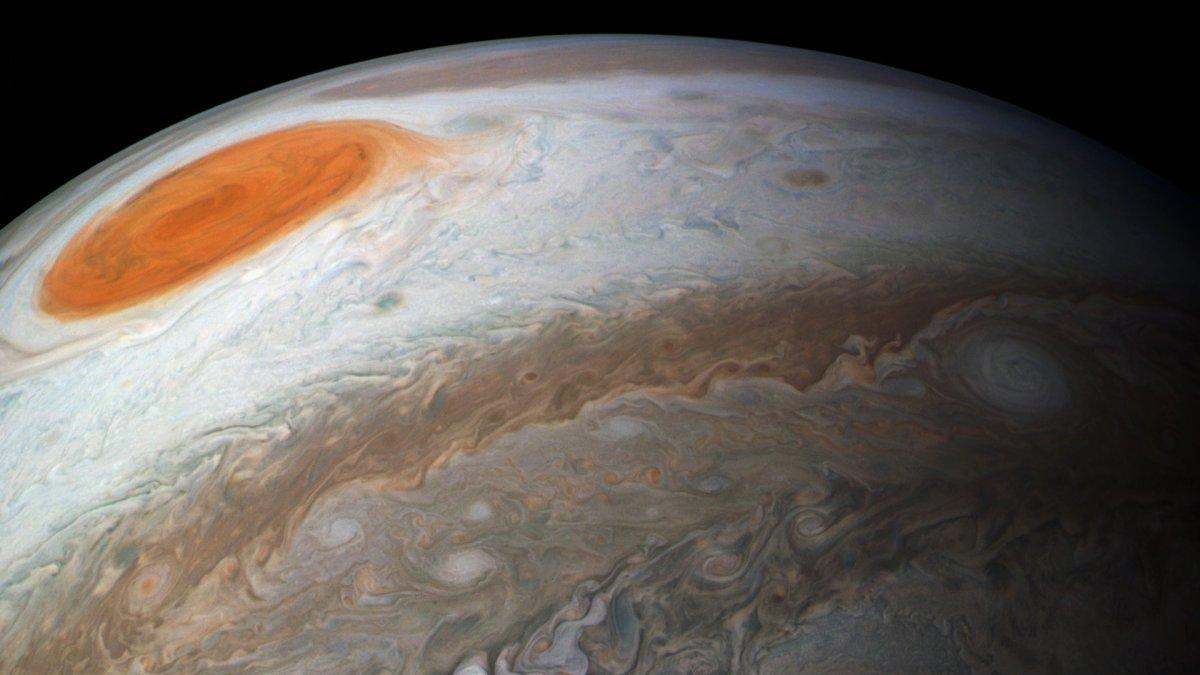 La NASA muestra nuevas imágenes de Júpiter