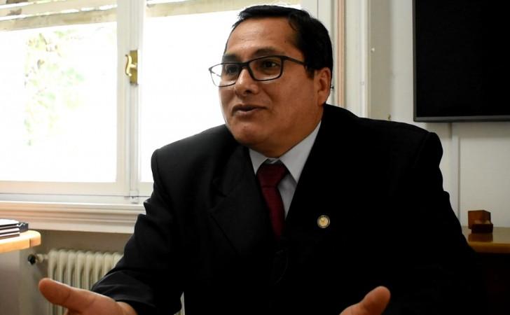 Giovanni  Escalante Representante de OMS/OPS en Uruguay. / Foto: Carlos Loría
