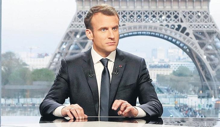 "Macron: ""Francia no ha declarado la guerra a Siria""."