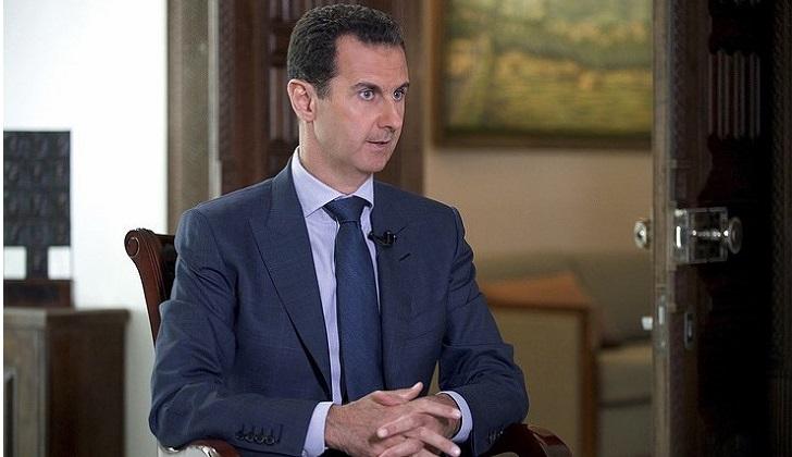 """Presidente sirio: """"Occidente intenta cambiar el curso de los acontecimientos tras las victorias del Ejército""""."""