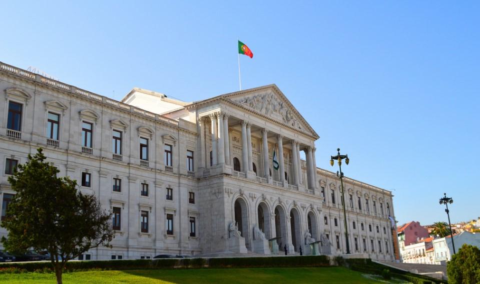 Palácio de São Bento, sede de la Asamblea de la República de Portugal. Foto: Manuel Menal