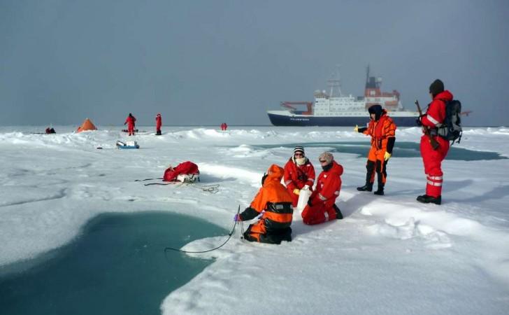 67% de las partículas de plástico encontradas en el hielo ártico tenían menos de 50 micrómetros de tamaño. Foto: Instituto Alfred Wegener