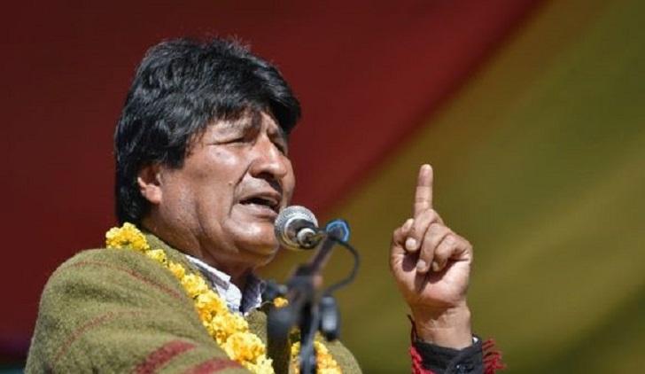 """Evo Morales dice que es """"inaceptable"""" una acción militar unilateral de EE.UU. en Siria"""