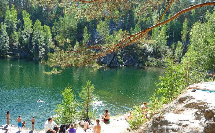 Lago Talkov Kamen / Foto: brodyaga.ru