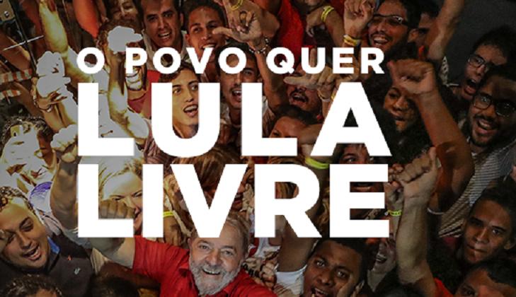"""PT: """"El pueblo brasileño tiene el derecho de votar a Lula"""". Foto: Facebook PT"""