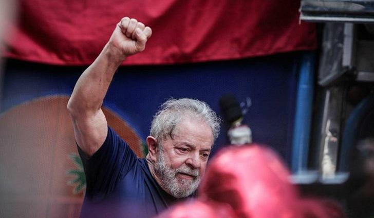 Brasil: convocan jornada nacional de movilizaciones en defensa de la libertad de Lula. Foto: Midia Ninja