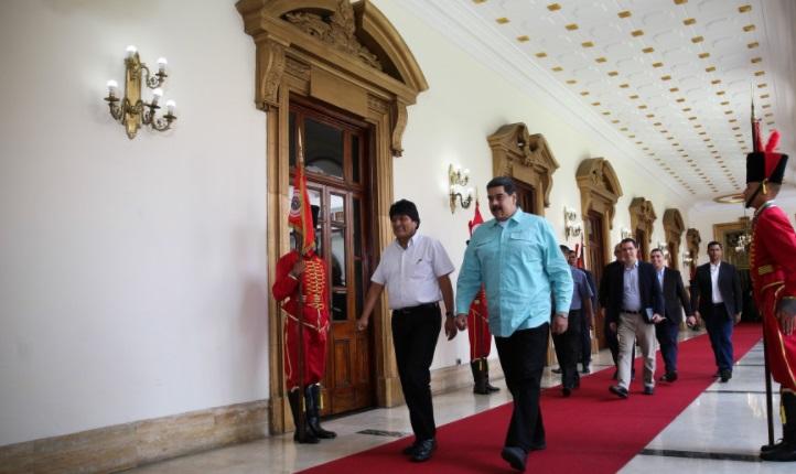 """Maduro sobre las elecciones: """"Les daré una lección a los peleles del imperialismo Macri, Temer y Santos"""""""