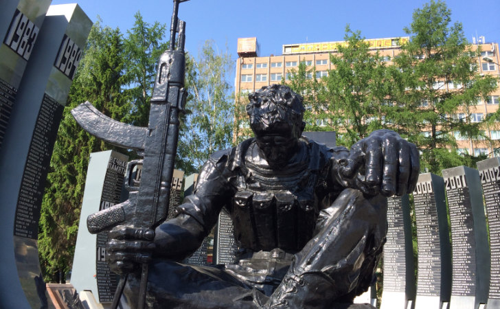 """Memorial """"Tulipan Negro"""" dedicado a los soldados caídos en guerra / Foto: cheekystarfish.com"""