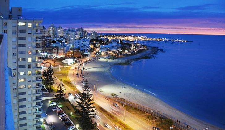 Uruguay recibe un 10% más de turistas en 2018