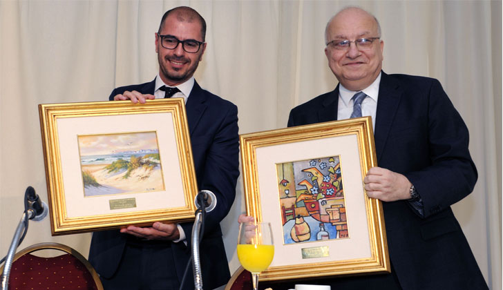 Juan Andrés Roballo und José Clastornik - Foto: Präsidentschaft der Republik.