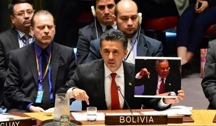 Bolivia condenó en ONU violencia contra población civil