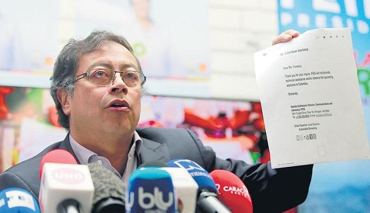"""Colombia: Petro denuncia que se está """"cocinando"""" un fraude electoral"""