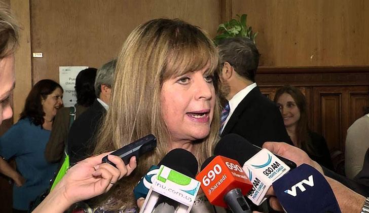 Presidenta del Instituto Nacional de Inclusión Social Adolescente (INISA), Gabriela Fulco.