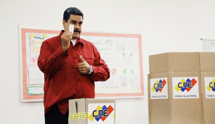 """Maduro: """"Me indigna cuando dicen que en Venezuela hay dictadura"""""""