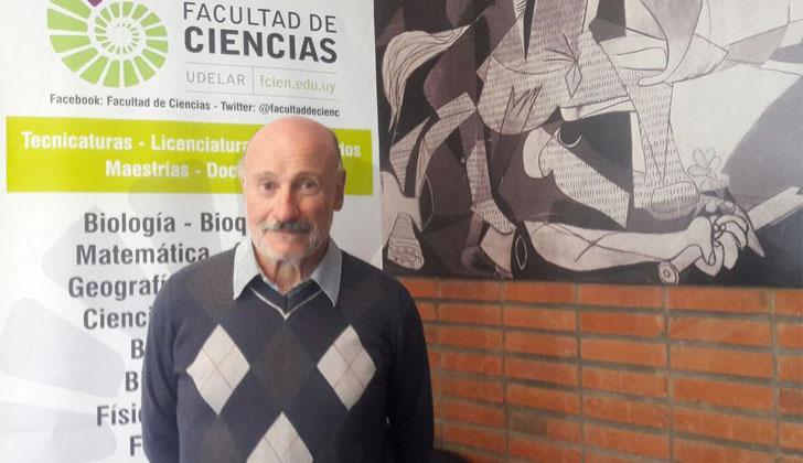 El docente e investigador del Instituto de Física de Facultad de Ciencias de la Universidad de la República, Julio Fernández.
