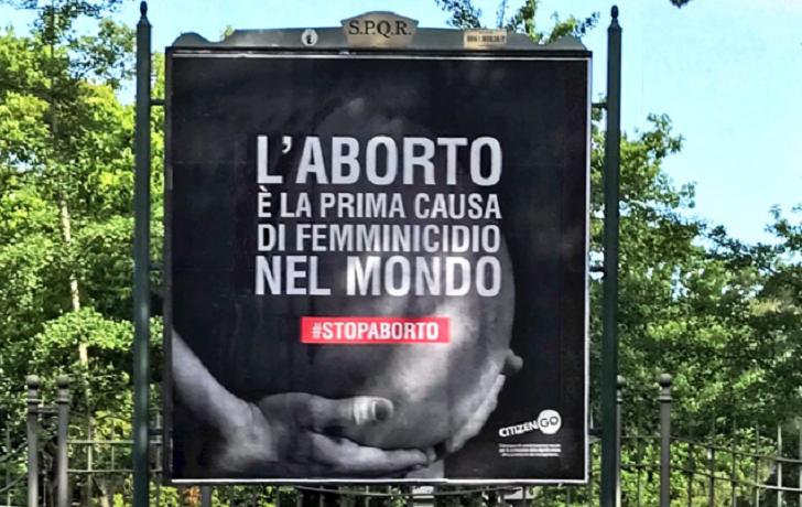 Campaña en Italia señala al aborto como principal causa feminicidio