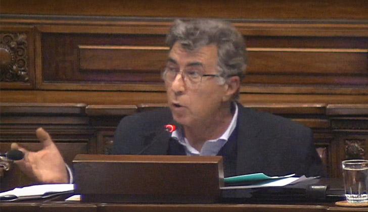 Diputado Darío Pérez (Liga Federal Frenteamplista).