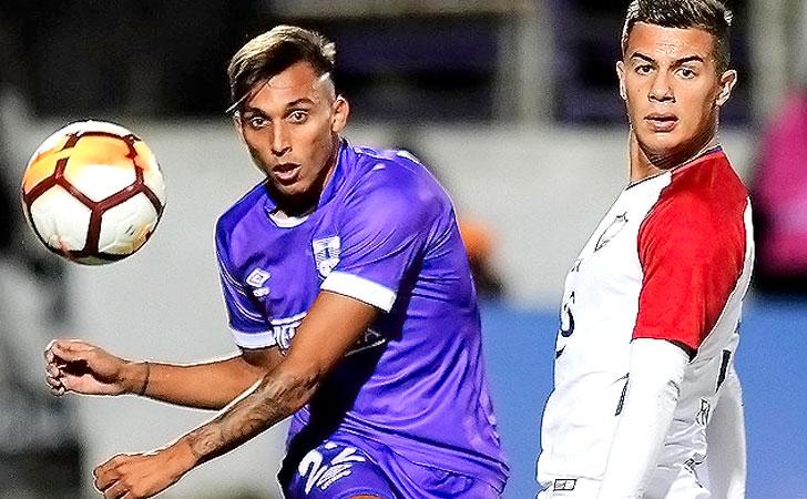 Defensor Sporting cayó 1-0 ante Cerro Porteño / Foto: AUF