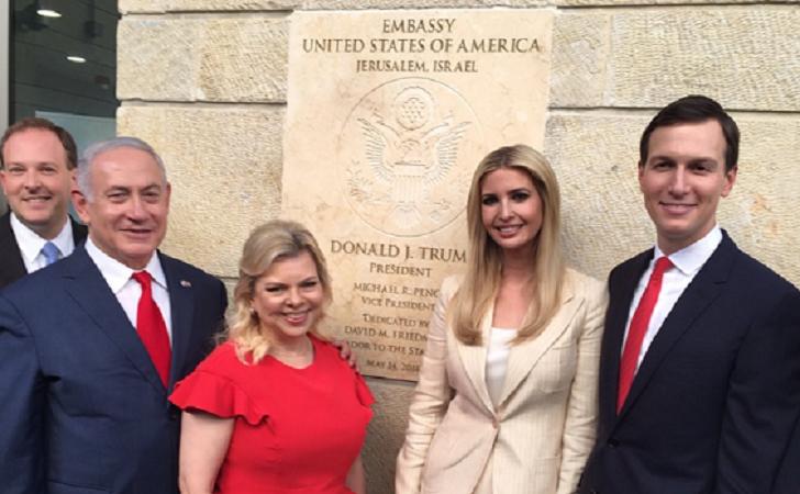EE.UU. inauguró su embajada en Jerusalén en medio de una masacre israelí en Gaza