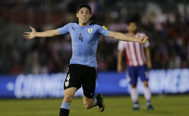 Federico Valverde ante Paraguay / Foto: AP