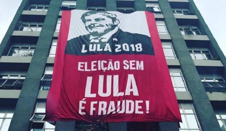 Seis líderes europeos piden  que Lula pueda ser candidato en las elecciones de Brasil.