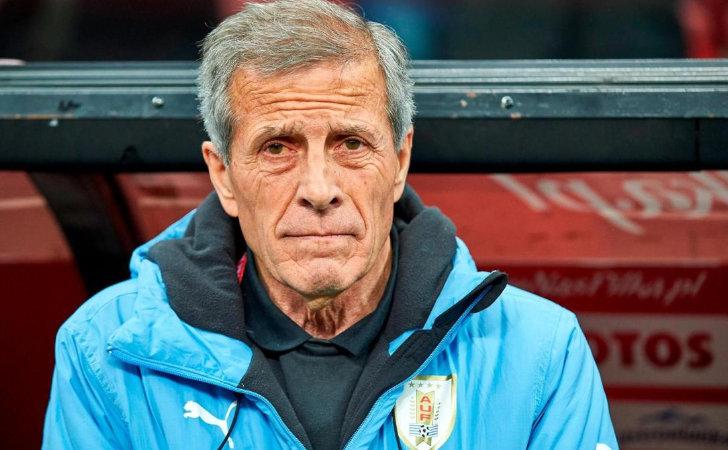 Suárez y Cavani encabezan la prenómina de Tabárez en Uruguay