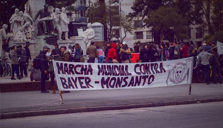 La Marcha Mundial contra Monsanto 2018 será el sábado 19 de mayo. Foto: Marcha Mundial contra Monsanto 2017 / LARED21