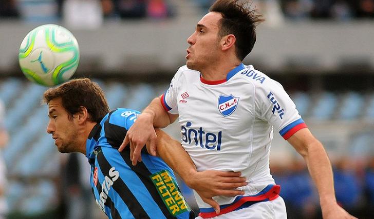 """Medina: """"Lo único que nos faltó fue el gol, el rendimiento del equipo fue espectacular"""". Foto: @CampeonatoAUF"""