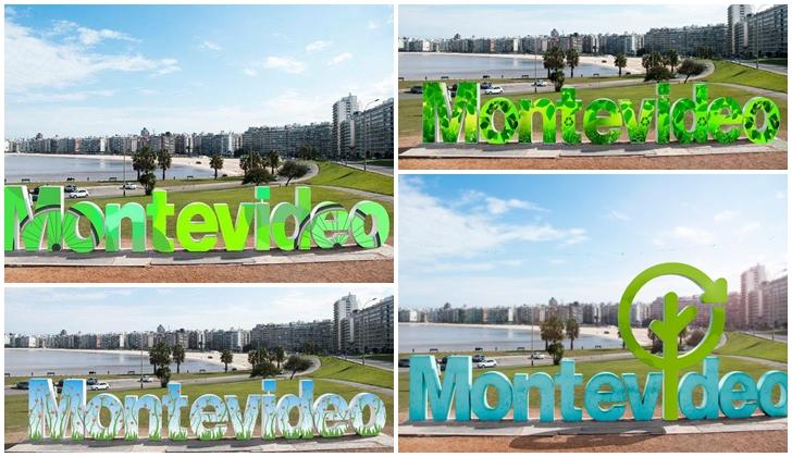 """Los uruguayos deciden qué diseño tendrá el cartel de """"Montevideo"""" por Día del Medio Ambiente"""