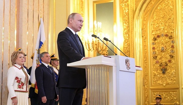 Vladimir Putin asumió su cuarto mandato. Foto: Kremlin