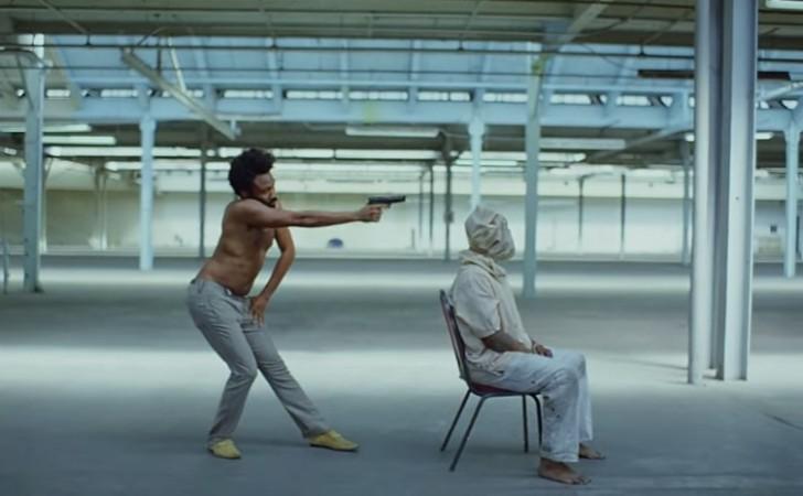 "Escena del vídeo ""This is America"", del rapero Childish Gambino."