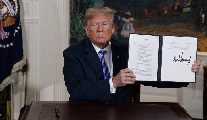 Confirmado: E.UU. se retira del acuerdo nuclear con Irán