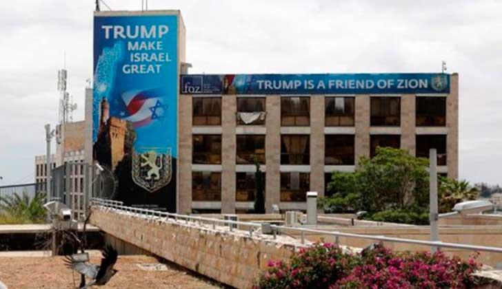 Decenas de países boicotean la inauguración de la embajada de EE.UU. en Jerusalén
