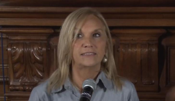 Presidenta del Directorio del Partido Nacional, Beatriz Argimón.