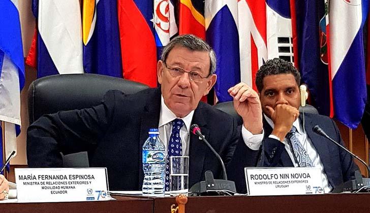 Uruguay lanza su candidatura al Consejo de DD.HH de Naciones Unidas