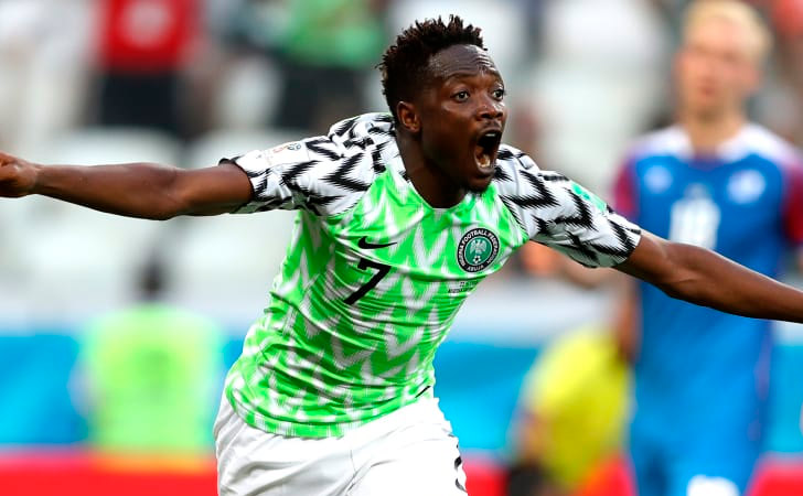 Ahmed Musa le devuelve la confianza a Nigeria / Foto: FIFA