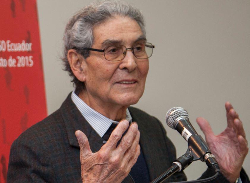 Anibal Quijano en 2015. Foto: Wikimedia Commons