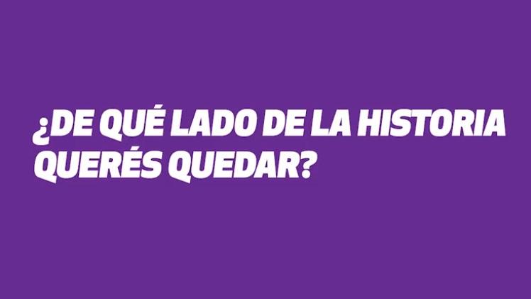 """""""¿De qué lado de la historia querés quedar?"""", la pregunta para los diputados argentina ante el debate por el aborto legal"""