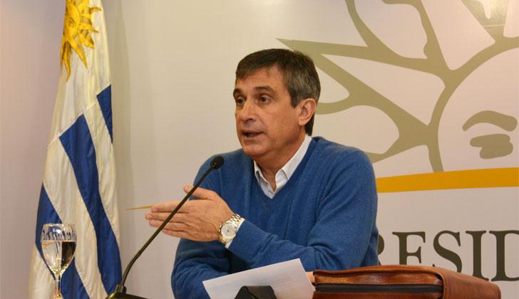 Director de OPP, Álvaro García, luego del Consejo de Ministros. Foto: Presidencia de la República.