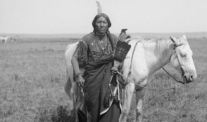 Aborigen comanche en la primera mitad del siglo XX. Foto: Wikimedia Commons