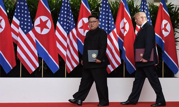 """""""Paso crucial"""", """"comienzo de una nueva historia""""; las repercusiones del encuentro entre Trump y Kim"""