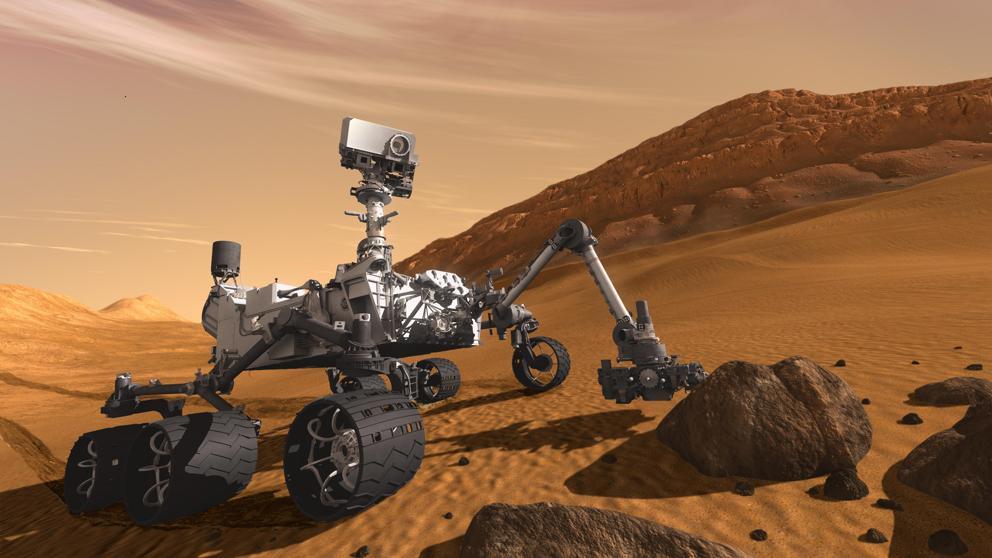 Curiosity halla indicios de posible antigua forma de vida en Marte