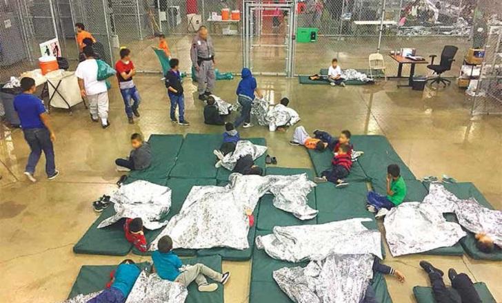 """Trump justifica la """"tolerancia cero"""" mientras las imágenes de niños migrantes en jaulas indignan al mundo"""