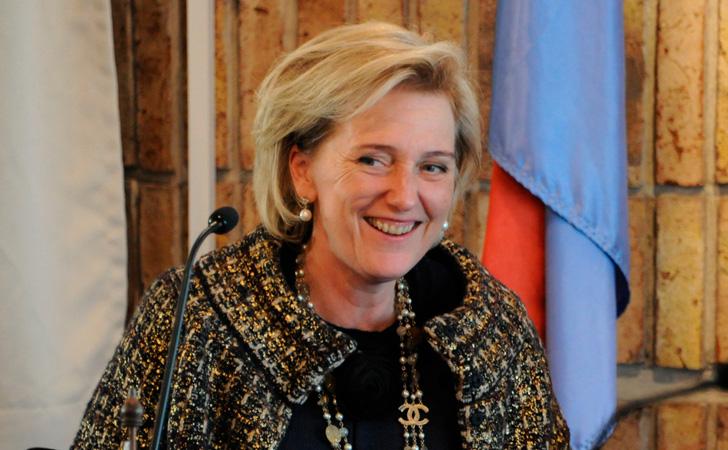 La Princesa Astrid de Bélgica en su visita a Uruguay / Foto: Presidencia